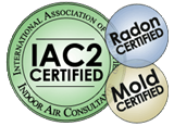 Our Home inspectors are certified in Mold & Radon