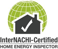 Our home inspectors are energy certified